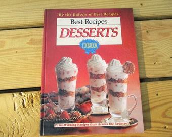 1991 Best Recipes Desserts Cookbook