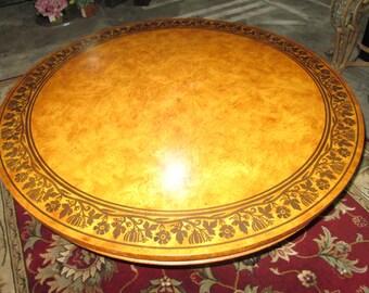Round Baker Foyer Table