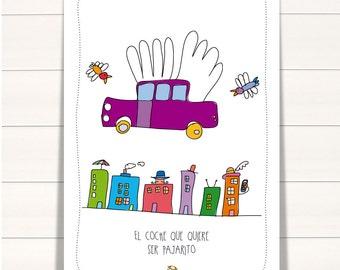 Flying car - Poster