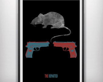 The Departed minimalist movie poster
