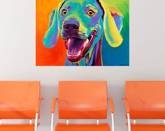 Taffy Weimaraner Dog Wall Decal - #59960