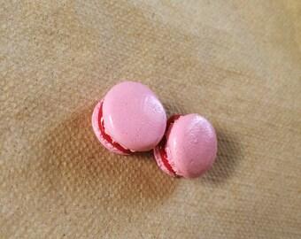 Pick your flavor Macaron dangle earrings