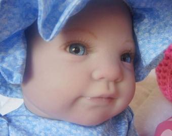 CHRISTMAS IN JULY Holly by Donna Rubert Custom Reborn Doll Little Darlins Nursery Rita Meese Artist