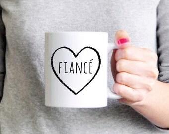 Fiance Mug Fiance Coffee Mug Ceramic Mug Girlfriend Gift Boyfriend Gift Fiance Gift Funny Gift Coworker Gift Sister Gift Brother Gift