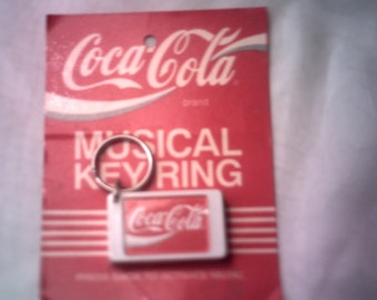 Vintage Coco-Cola Key Ring