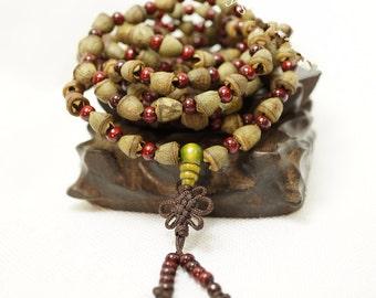 Natural 108 Beads Buhhda Prayer - Amazing Fragrant Seeds Bracelet
