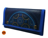 Free Shipping Vegan Leather Wallet for Women Vegan Wallet Ladies Wallet Trifold Wallet UNUSUAL with Coin Pocket - UNUSUAL Wallet