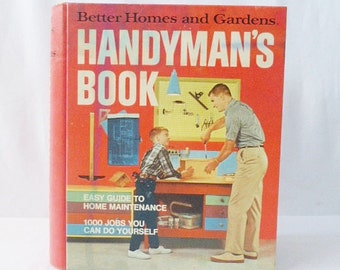 """Handyman Better Homes and Gardens Books """"1000 Jobs You Can Do Yourself"""" Home Maintenance"""