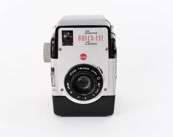 Vintage Kodak Brownie Bullseye Camera (Black)