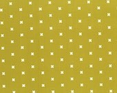 Cotton & Steel Fabric, XOXO in Shag Carpet,  Modern Quilting, Fabric by the Yard, Geometric, Basic