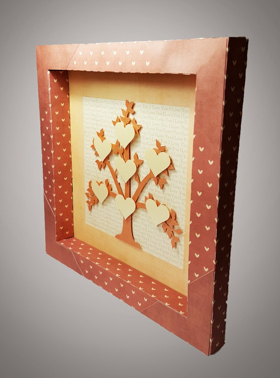 family tree shadow box template from mysvghut on etsy studio. Black Bedroom Furniture Sets. Home Design Ideas