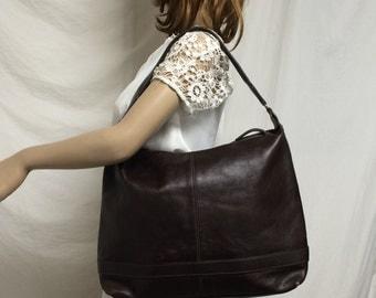 Wilson large leather purse,large, brown ,shoulder bag ,purse,bag