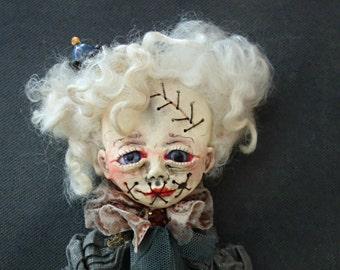 Reserved for Laura ! OOAK Art Doll '' Murelle''