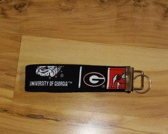 College, Georgia Bulldogs Key Fob