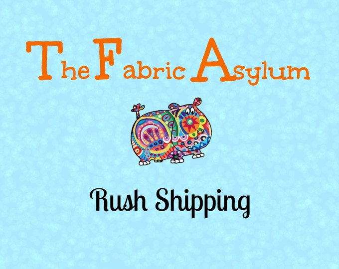 Rush Shipping Fee (For Processing Only)