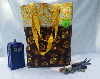 Doctor Who Dalek Tote Bag