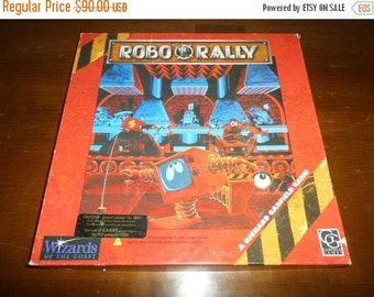 Save 10% Today Rare 1994 Board Game Robo Rally WOTC Game 100 Percent Complete First Edition