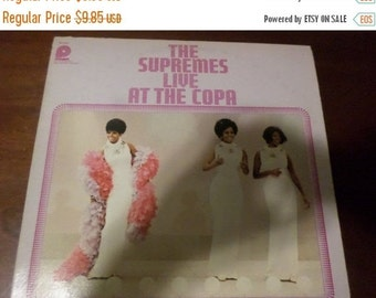 Save 25% Today Vintage 1976 LP Record The Supremes Live at the Copa Pickwick Records Excellent Condition SPC-3541