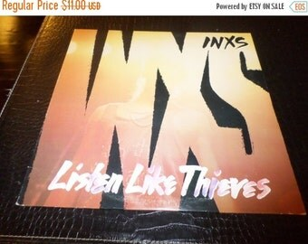 Save 25% Today Vintage 1985 LP Record Inxs Listen Like Thieves Excellent Condition Atlantic Records 889