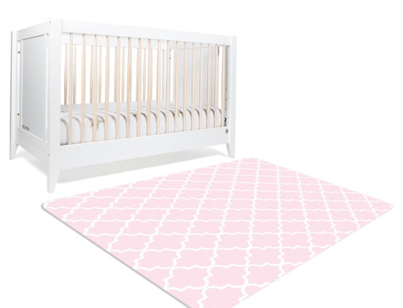Light Pink Rug Pink Nursery Rug Pink Decor Pink Rug - Light pink nursery decor