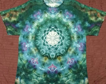 Large tie dye t shirt