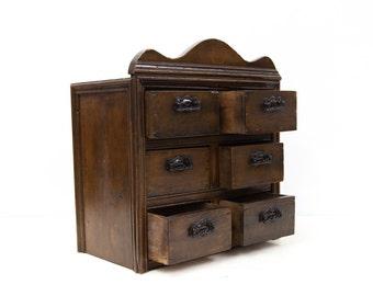 tiroir pices etsy. Black Bedroom Furniture Sets. Home Design Ideas