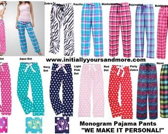 Monogram Pajama Pants (Lounging Pants)