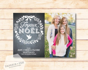 Joyeux Noel  // Holiday Photo Card