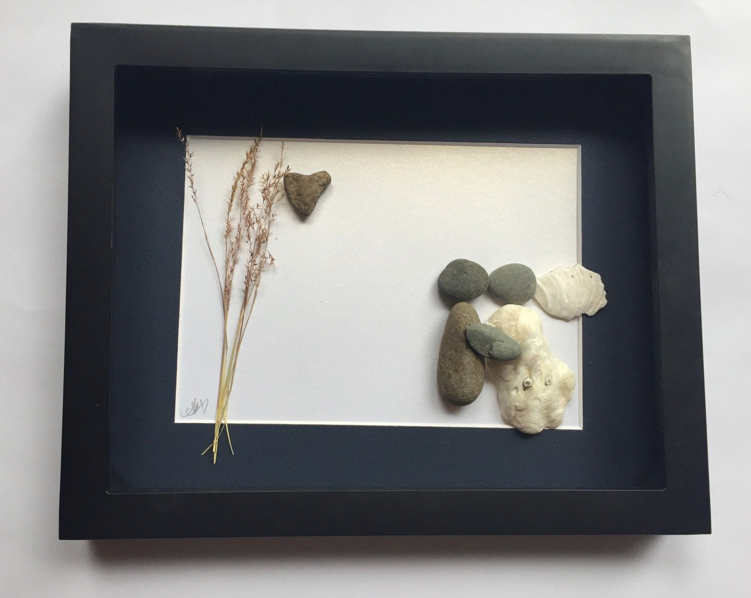 Unique Wedding Gifts Vancouver : Pebble Art Unique Wedding Gift Custom Engagement by SticksnStone