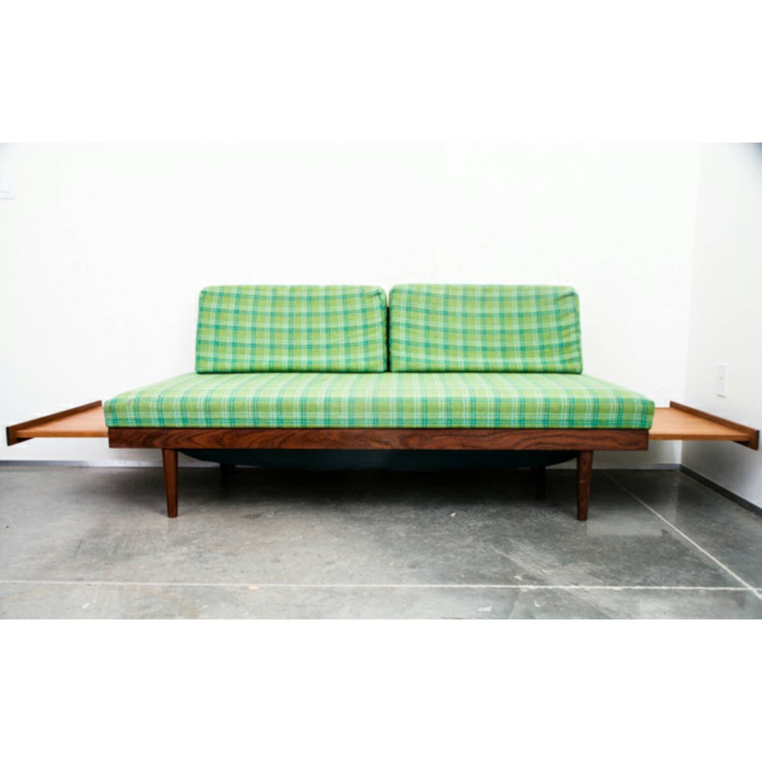 Sold mid century danish modern daybed by midcenturysacramento for Mid century modern day bed
