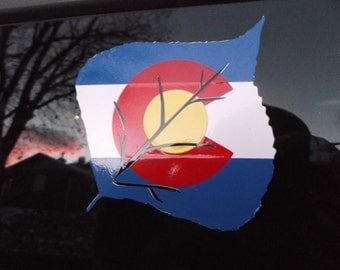 Colorado Vinyl Decal #10 (Aspen)