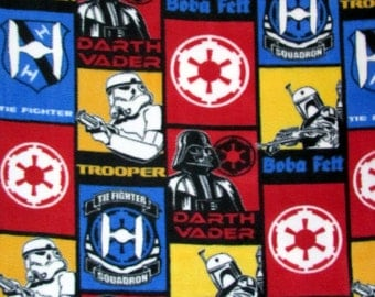 Per Yard, FLEECE Star Wars Fabric From Camelot