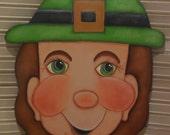 Thurman, Tole Painting, EPattern,Lucky, Irishman, Painting Pattern, 3 sizes, Fun, Door Hanger, Spring, Irish, St Patricks Day Decor, DIY,art