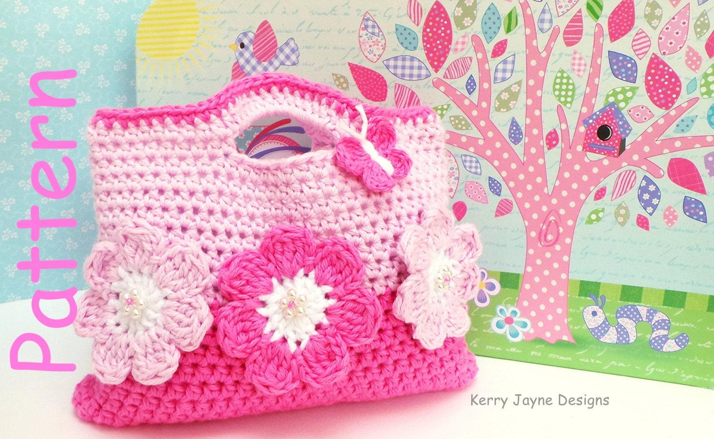 Crochet Designer Bag Pattern : CROCHET Bag Pattern By KerryJayneDesigns by KerryJayneDesigns