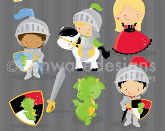 Little Knight Clipart