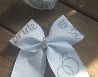 Bride To Be Cheer Bow