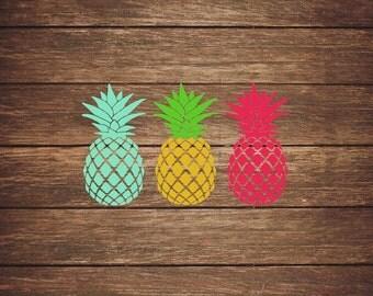 Pineapple Sticker Etsy