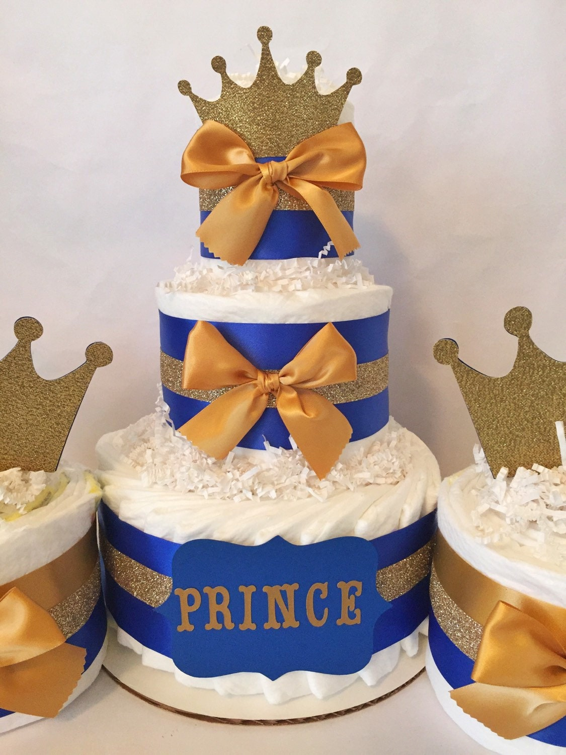 Blue And Gold Baby Shower Decorations Prince Baby Shower Party Package In Royal Blue And Gold Prince