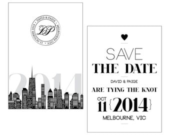 City Save the date