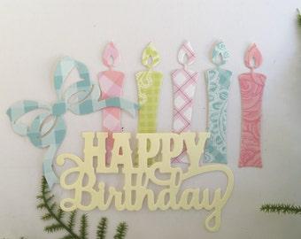 Birthday Embellishment Kit