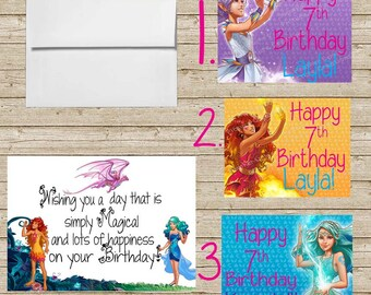 Lego Elves Birthday Card