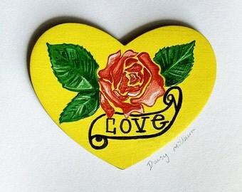 Love Tattoo Style Design
