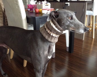 Greyhound neck warmers snoods scarves cowl