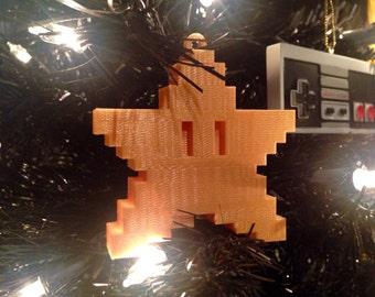Nintendo Super Mario Bros Starman Christmas Ornament