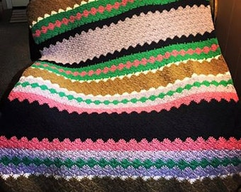 The Chromataupe Afghan Crochet Pattern