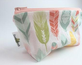 Zipper Snack Bag, Cloth Snack Bag, Reusable Snack Bag