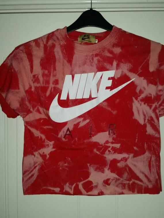 1d3cb640053 unisex customised nike tie dye cropped t shirt by mysticclothing 70%OFF. unisex  nike acid wash ...