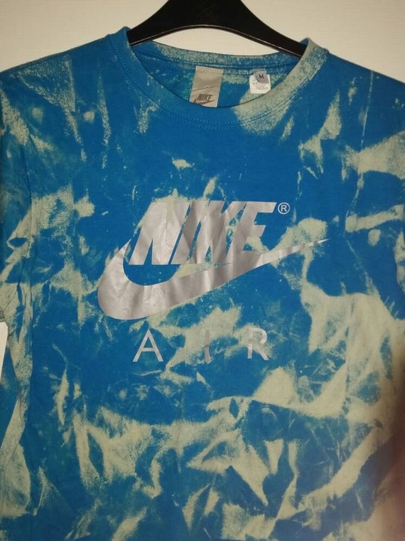 213cae5dc6b 50%OFF unisex customised nike tie dye cropped t shirt by mysticclothing. unisex  nike acid wash ...
