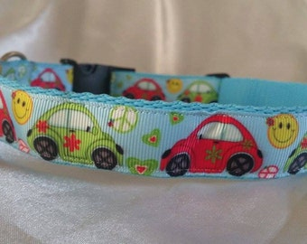 Handmade Dog Collar-Matching Lead Available