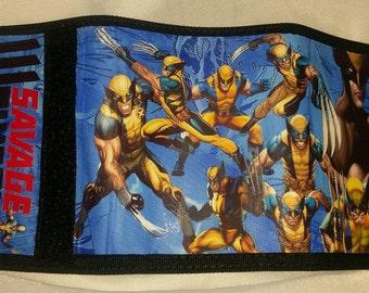 New Savage Wolverine wrap around canvas trifold